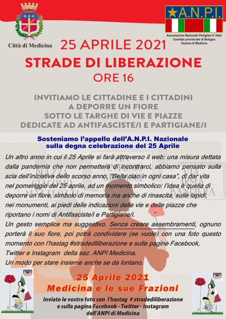 Locandina 25 aprile 2021_strade di libertà